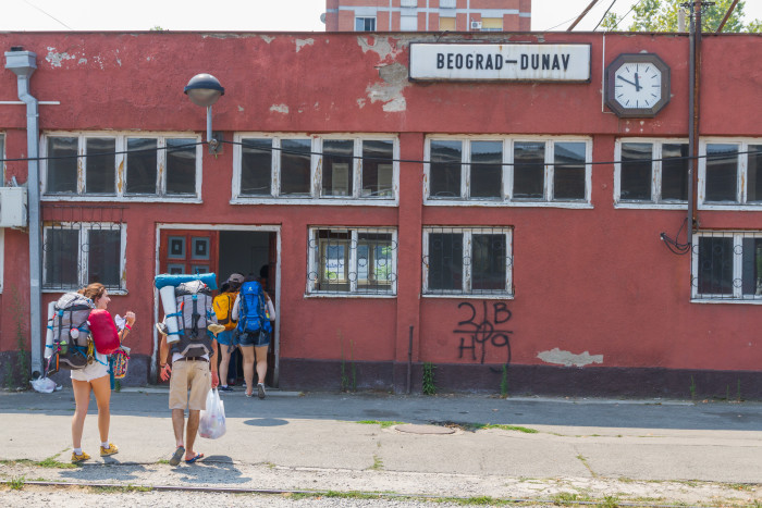 Beograd Dunav Train Station