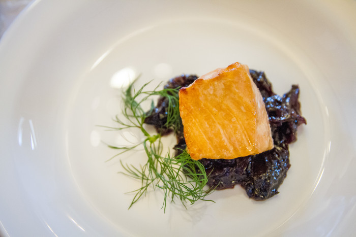 Chateau Vartely Vineyard Salmon Pairing