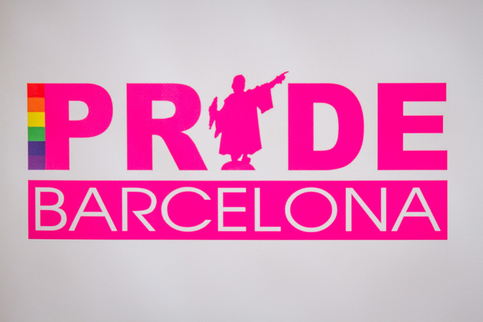 Pride Barcelona Sign