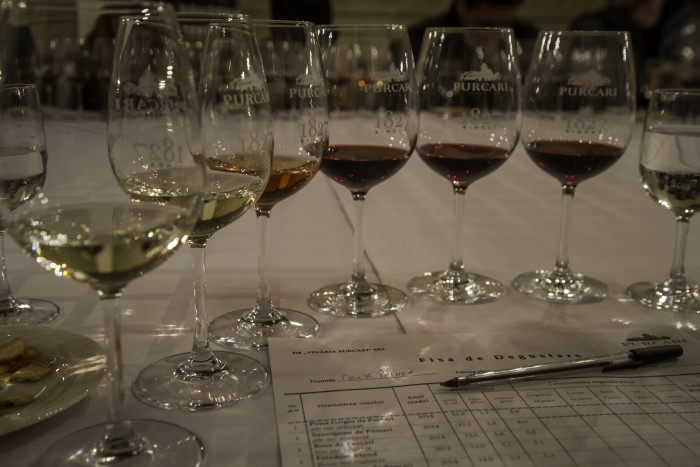 Pucari Vineyard Wine tasting