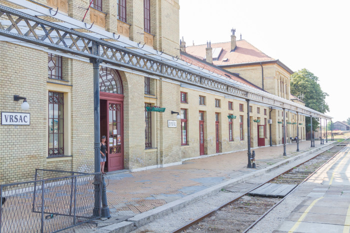Vrsac Train Station