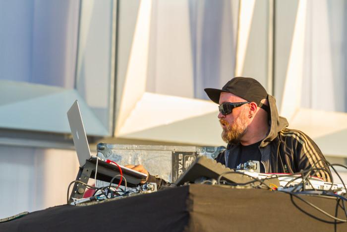 DJ The Bug at Untold Festival