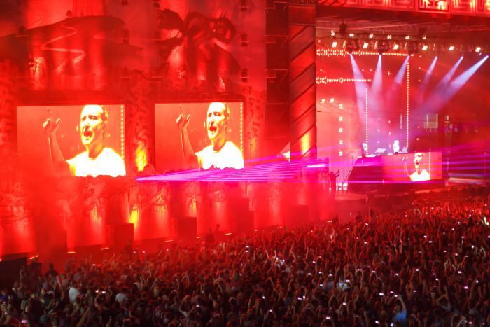 David Guetta closing Untold Festival