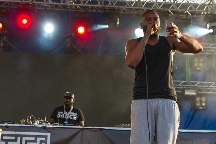 Flowdan at Untold Festival
