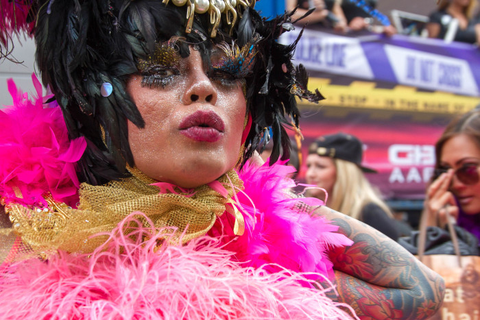 Asian Drag Queen at Copenhagen Pride