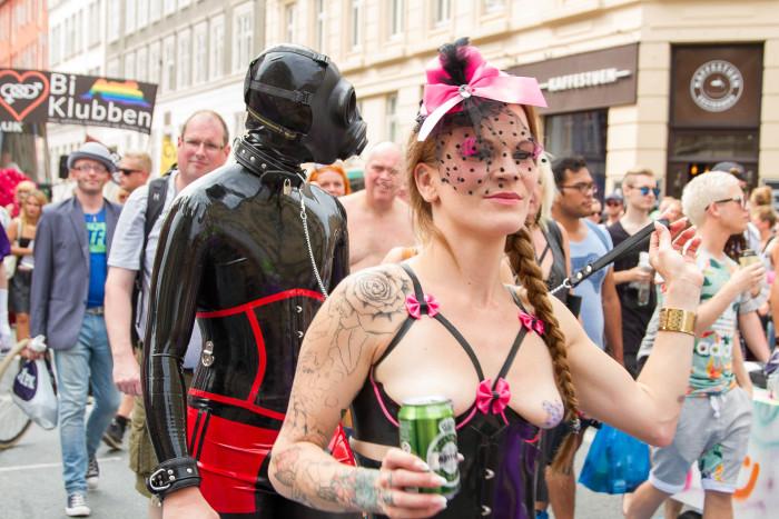 Bondage at Copenhagen Pride