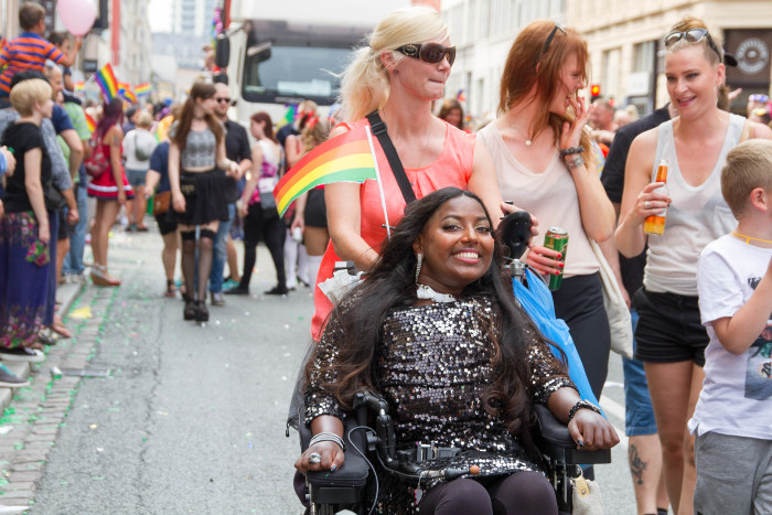 Disabled Copenhagen Pride