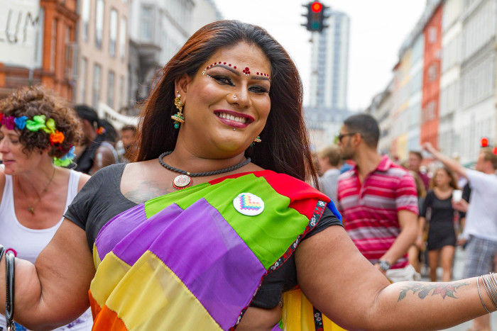 Drag Queen at Copenhagen Pride