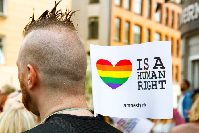 Gay Rights are Human Rights at Copenhagen Pride