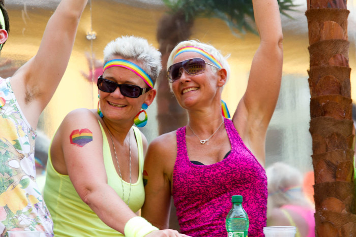 Older Lesbians at Copenhagen Pride