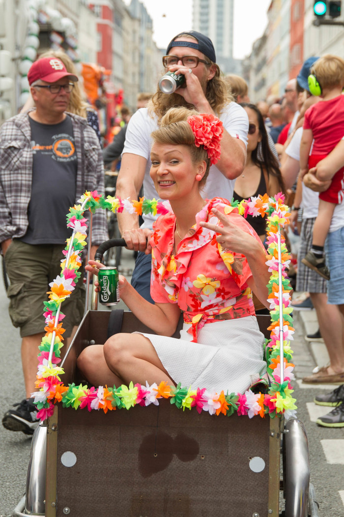 Push cart and Beauty at Copenhagen Pride