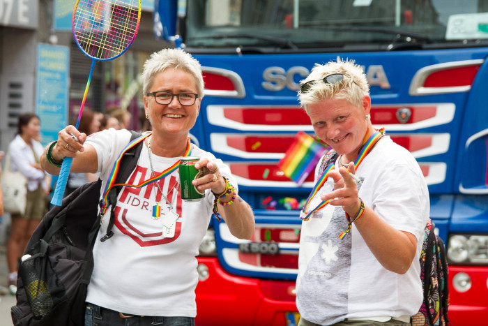 Racket Lesbians at Copenhagen Pride
