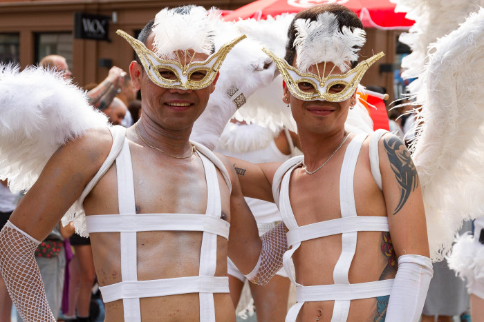 Thai Angels at Copenhagen Pride