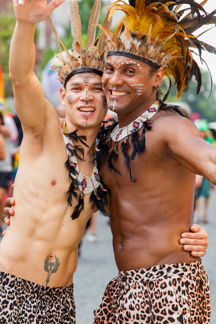 Tribal Couple at Copenhagen Pride