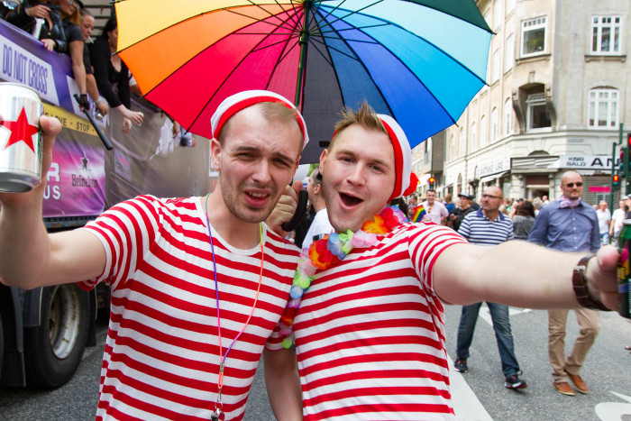Wheres Waldo at Copenhagen Pride