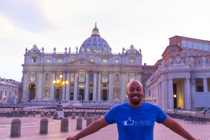 Me at Country 77. Vatican City