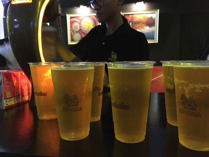 Singha Beer at Singha Experience
