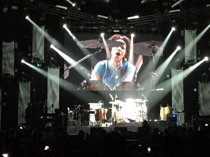 Cindy Blackman Carlos Santana Drummer Singha Experience