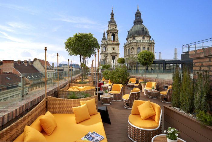 Aria Hotel Budapest Rooftop Lounge