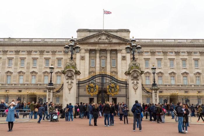 Buckingham Palace London Englad