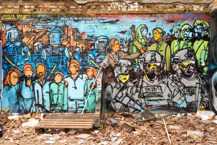 East End Graffiti London