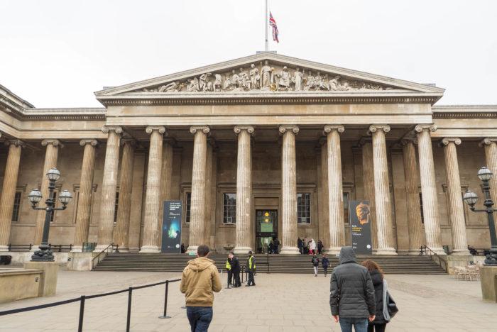 The British Museum Exterior London