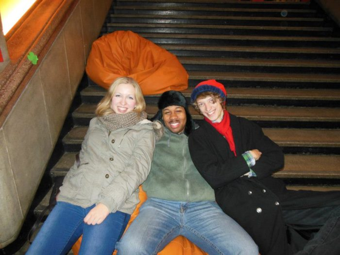 Me, Sarah, and Dan
