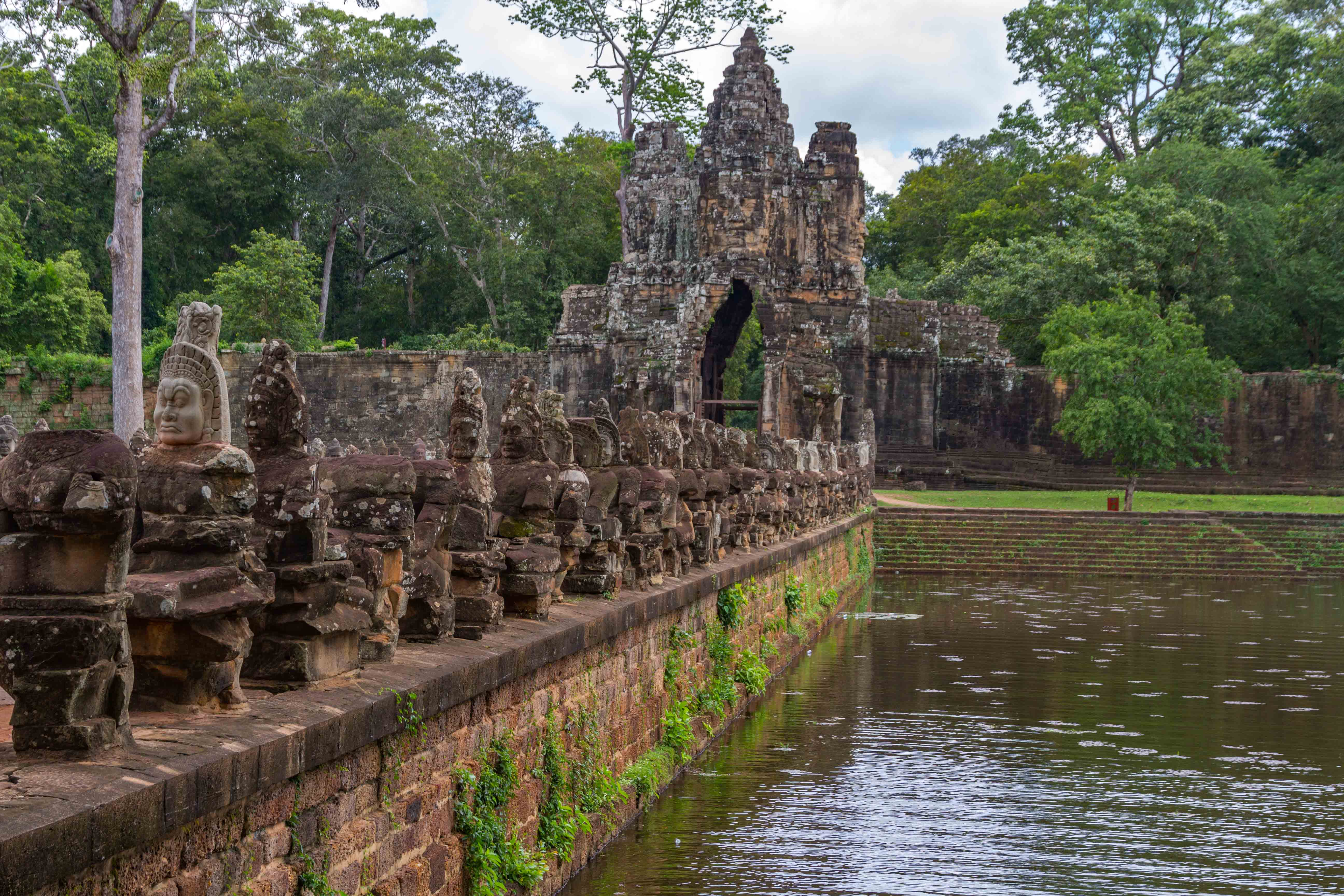 The South Gate, Angkor Thom Entrance Heads