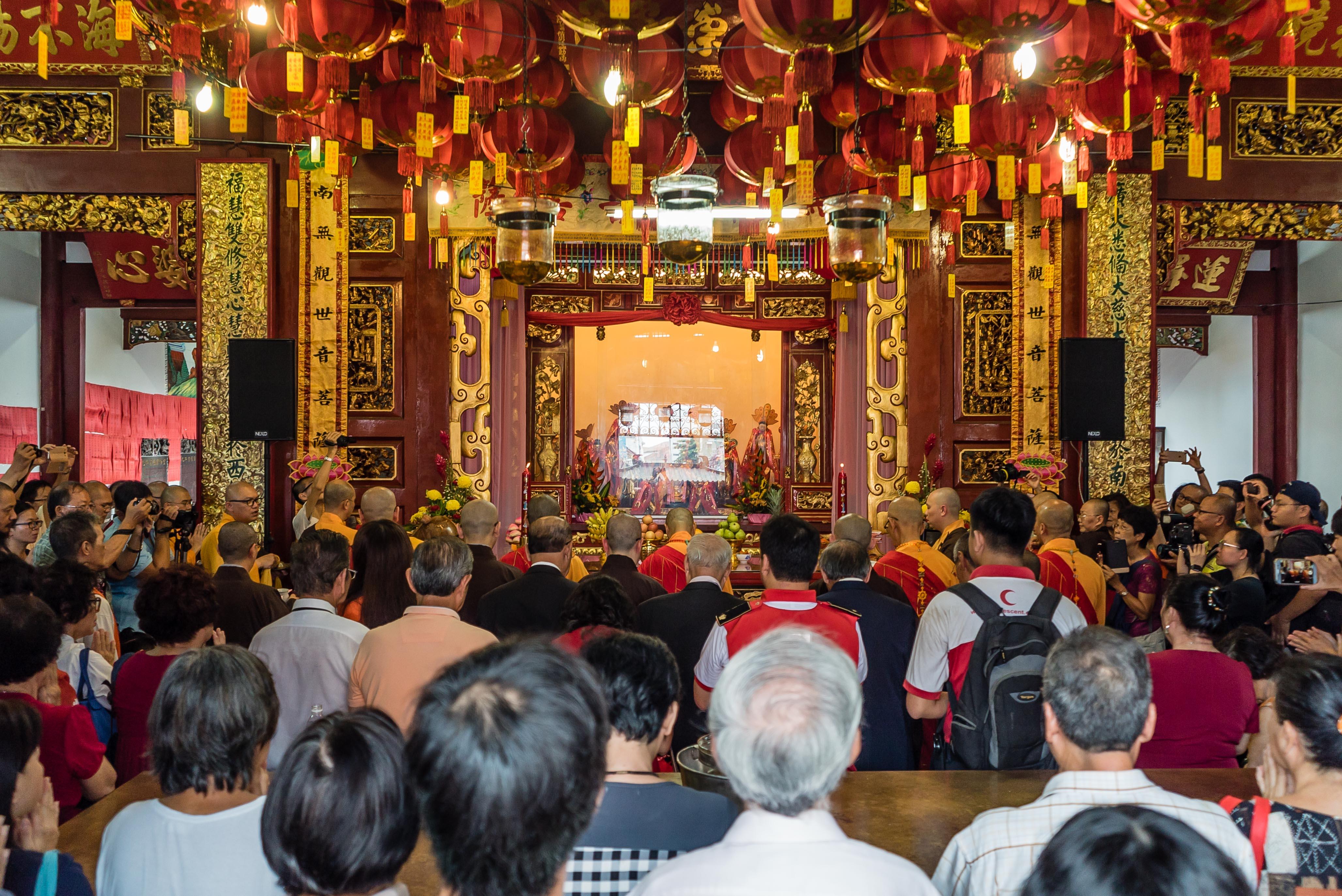 Goddess of Mercy Temple Kuan Yin Penang