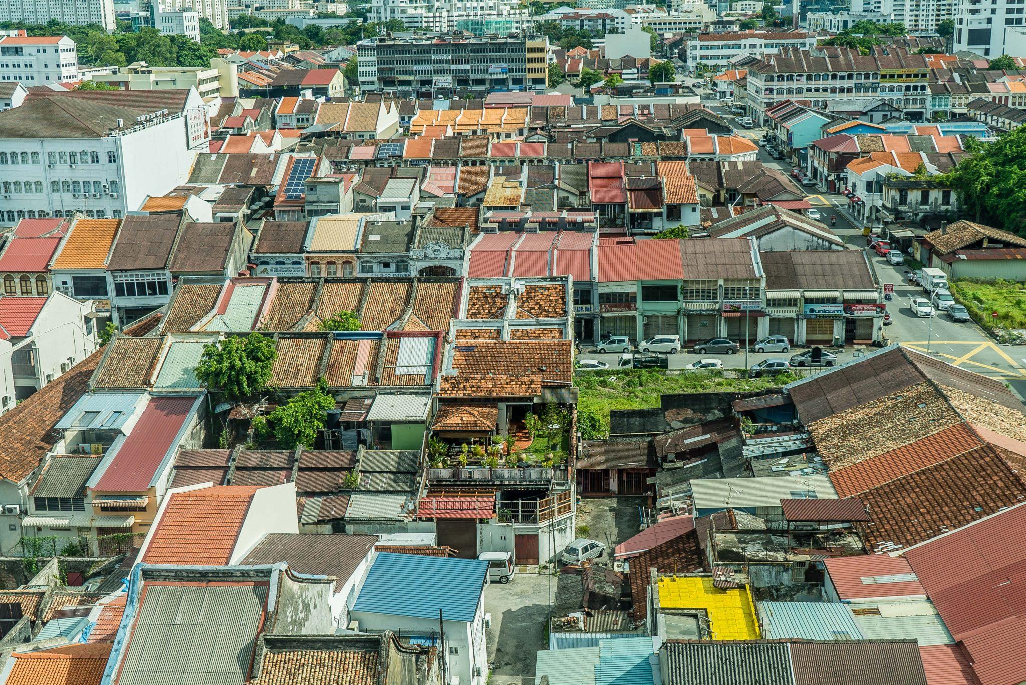 Houses in Georgetown Penang