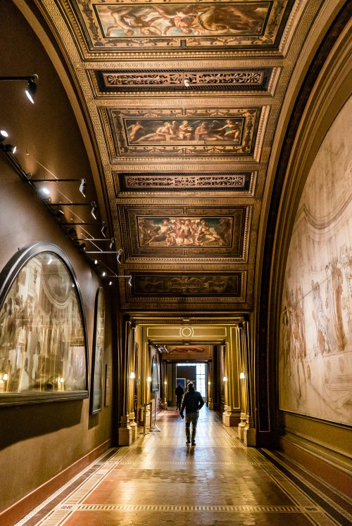 Victoria and Albert Museum London Hallway