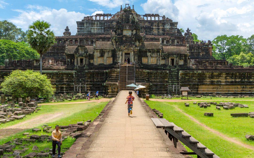 photo essay exploring angkor wat temple complex in cambodia